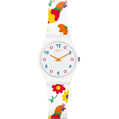 Swatch Polletto Dameshorloge Wit LW154