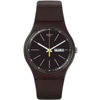 Unisex Swatch Blue Browny Watch