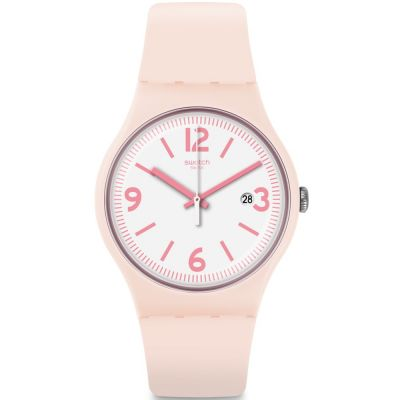 Swatch Originals New Gent English Rose Unisexuhr in Pink SUOP400