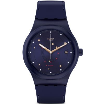 Swatch Sistem51 Originals Sistem Sea Unisexuhr in Blau SUTN403