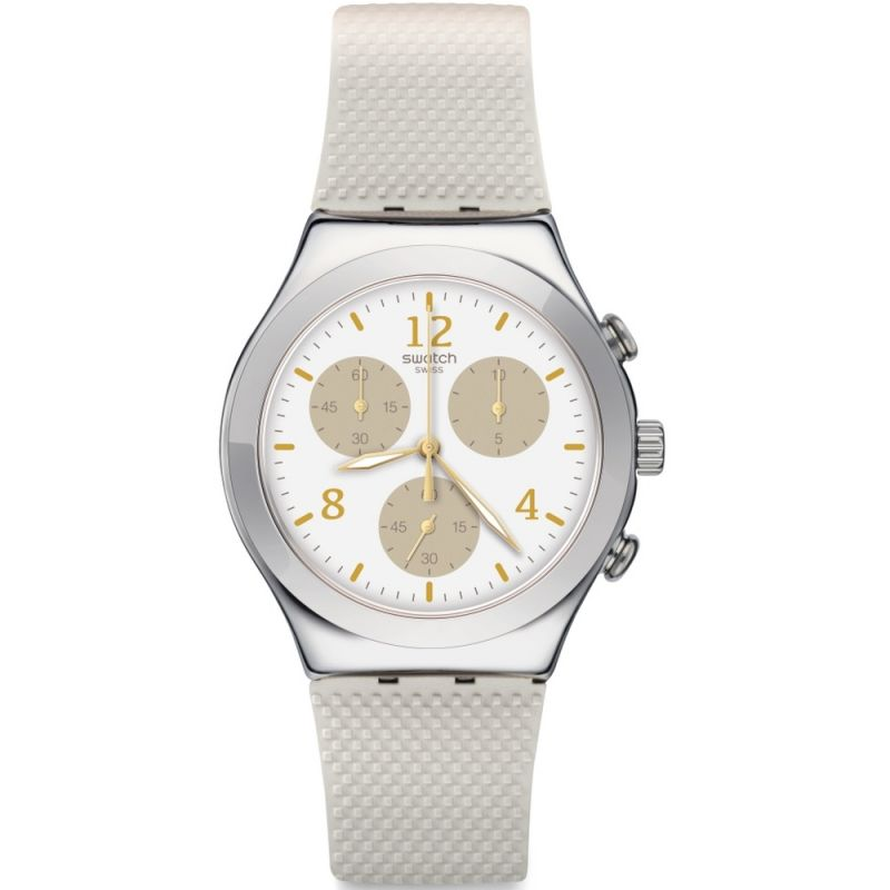 Unisex Swatch Hello Pretty Chronograph Watch