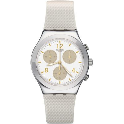Unisex Swatch Hello Pretty Chronograph Watch YCS114