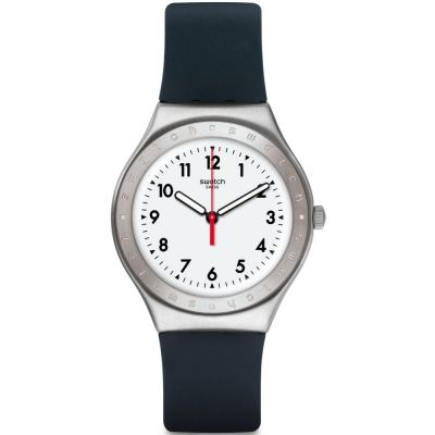 Swatch Irony Big Black Reflexion Unisexuhr in Grau YGS135