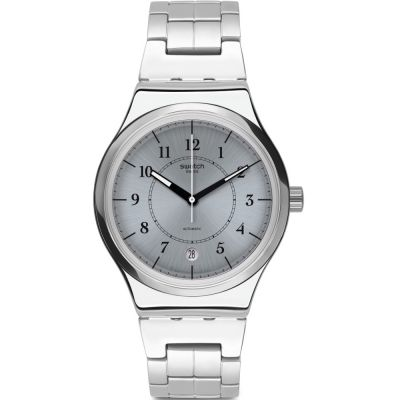 Unisex Swatch Sistem Check Automatic Watch YIS412G