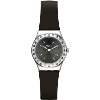 Swatch Irony Small Camanoir Damenuhr in Schwarz YSS312