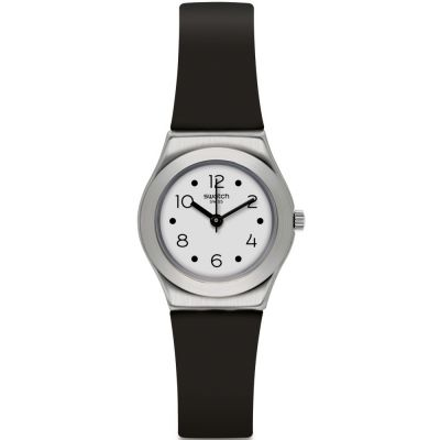Swatch Irony Small Soblack Damenuhr in Schwarz YSS315