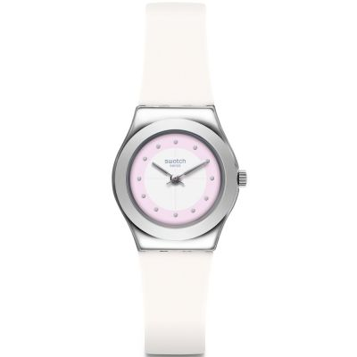 Swatch Irony Small Sowhite Damenuhr in Weiß YSS316