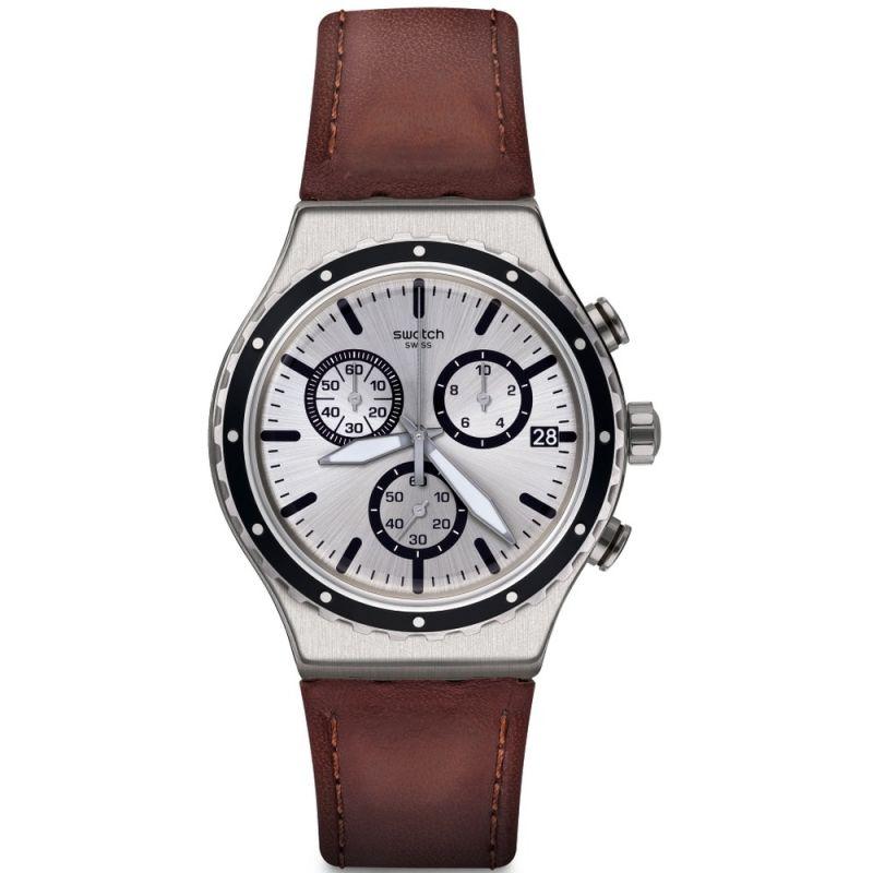 Unisex Swatch Grandino Chronograph Watch