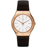 Mens Swatch Tic-Brown Watch