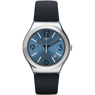 Swatch Irony Big Classic Marine Chic Herrenuhr in Schwarz YWS427