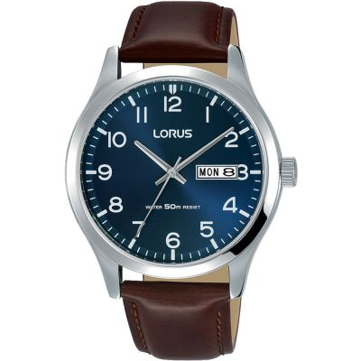 Lorus Urban Dress Herrenuhr in Braun RXN49DX9