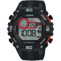 Mens Lorus Digital Alarm Chronograph Watch