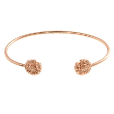 Olivia Burton Dam Flower Show Daisy Open Ended Bangle Roséguldspläterad OBJ16DAB04
