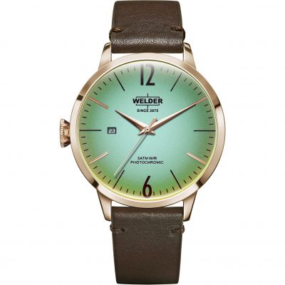 Welder The Moody 42mm Unisex horloge Bruin K55/WRC201