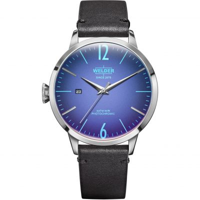 Welder The Moody 42mm Unisex horloge Zwart K55/WRC203