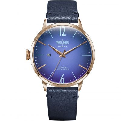 Welder The Moody 45mm Unisex horloge Blauw K55/WRC310