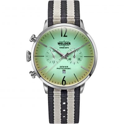 Welder The Moody 45mm Unisexchronograaf Creme K55/WRC501