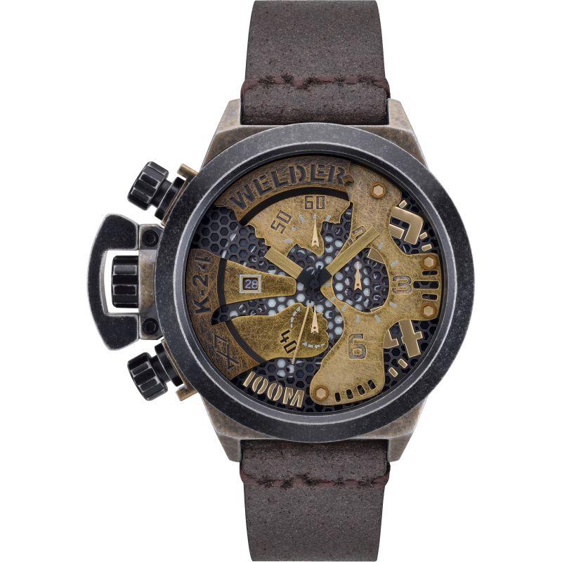 Mens Welder The Bold K24 Chronograph Watch