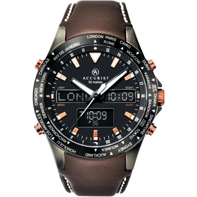 Montre Homme Accurist World Timer 7101