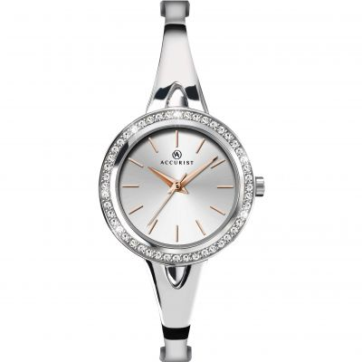Ladies Accurist Bangle Watch 8109