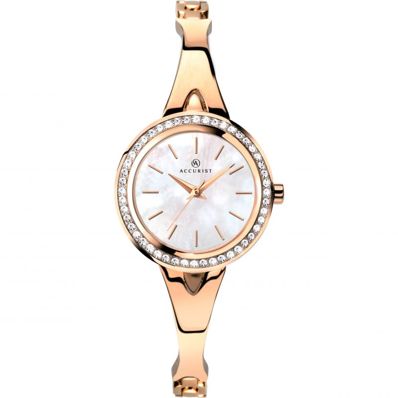 Ladies Accurist Bangle Watch 8111