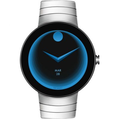 Mens Movado Connect Android Wear Bluetooth Alarm Chronograph Watch 3660017