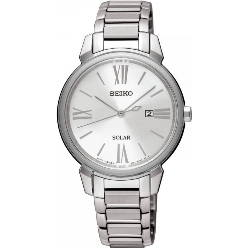 Ladies Seiko Solar Powered Watch SUT323P1