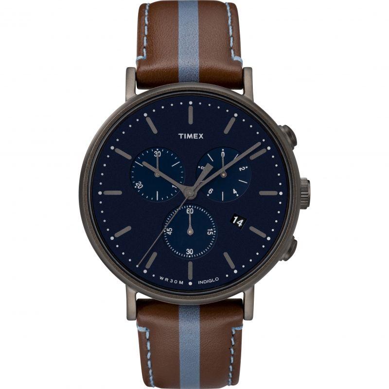 Mens Timex Fairfield Chronograph Watch