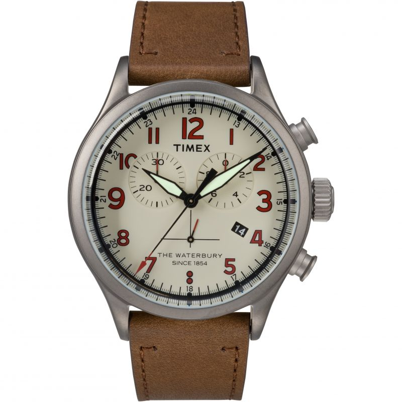 Mens Timex The Waterbury Chronograph Watch TW2R38300
