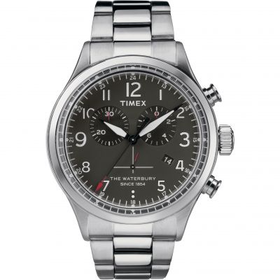 Mens Timex The Waterbury Chronograph Watch TW2R38400