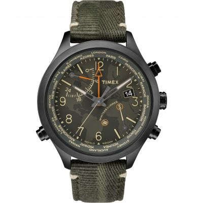 Timex The Waterbury Intelligent Quartz Herrkronograf Grön TW2R43200
