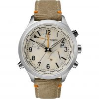 Timex The Waterbury Intelligent Quartz Herrkronograf Khaki TW2R43300