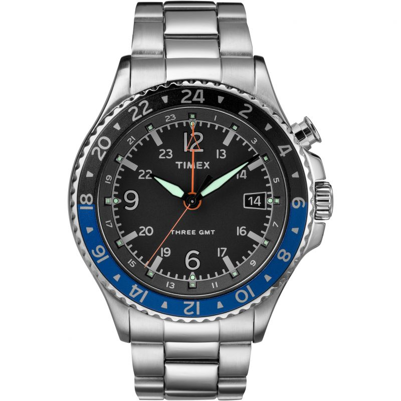 Mens Timex Scovill Intelligent Quartz Watch