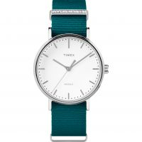 Ladies Timex Fairfield Crystal Bar Watch TW2R49000