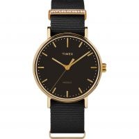Ladies Timex Fairfield Crystal Bar Watch TW2R49200
