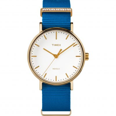 Ladies Timex Fairfield Crystal Bar Watch TW2R49300