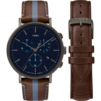 Orologio da Uomo Timex Fairfield Box Set TWG016800