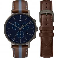 Mens Timex Fairfield Box Set Chronograph Watch