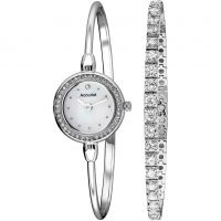 Ladies Accurist Bracelet Gift Set Watch LB1573