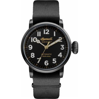 Ingersoll The Linden Herrenuhr in Schwarz I04806