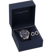 Mens Tommy Hilfiger Cufflink Box Set Watch 2770023