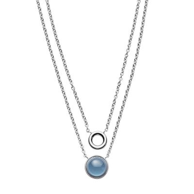 Ladies Skagen Silver Plated Necklace SKJ1046040