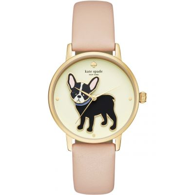 Kate Spade New York Metro Dameshorloge Bruin KSW1345