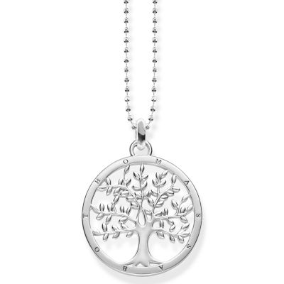 Ladies Thomas Sabo Sterling Silver Glam & Soul Tree of Love Necklace KE1660-001-21-L45V