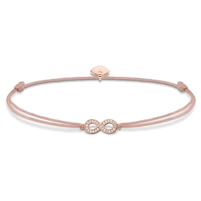 Ladies Thomas Sabo Sterling Silver Little Secrets Infinity Bracelet LS032-898-19-L20V