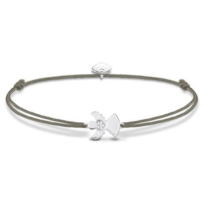 Ladies Thomas Sabo Sterling Silver Little Secrets Angel Bracelet LS037-401-5-L20V