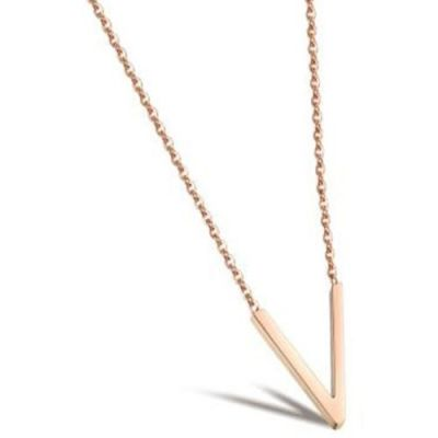 Ladies STORM Rose Gold Plated Trima Necklace 9980810/RG