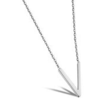 Ladies STORM Silver Plated Trima Necklace 9980810/S