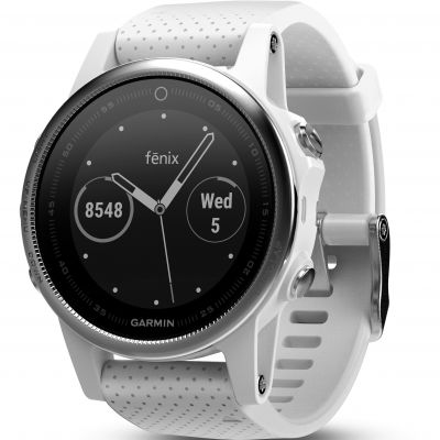 Unisex Garmin fenix 5S Bluetooth GPS HRM Alarm Chronograph Watch 010-01685-00