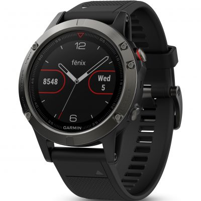 Unisex Garmin fenix 5 Bluetooth GPS HRM Alarm Chronograph Watch 010-01688-00